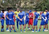 Bahia terá três desfalques para duelo com o Atlético-PR pela Sul-Americana | Foto: Felipe Oliveira l EC Bahia