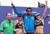 Maria Elisa e Carol Solberg ganham bronze na etapa de Las Vegas do vôlei de praia | Foto: Reprodução | Facebook