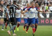 Bahia vence Botafogo e sobe na tabela | André Fabiano | Estadão Conteúdo
