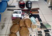 Irmãos são detidos com 7 kg de maconha em Esplanada   Divulgação   SSP-BA