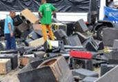 Equipamentos sonoros apreendidos são destruídos em Salvador | Divulgação