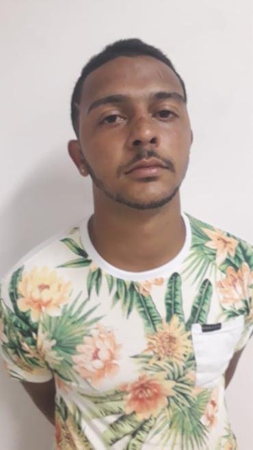 Pablo foi preso na Avenida Luís Eduardo Magalhães com carro roubado - Foto: Divulgação   SSP-BA