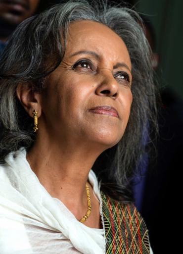 Sahle-Work Zewde foi eleita por unanimidade - Foto: AFP