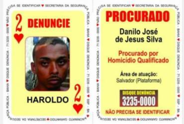 Dois de Copas do Baralho do Crime é preso em barbearia de Cajazeiras | Divulgação | SSP-BA