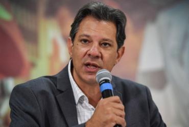 "Haddad, sobre pesquisa Datafolha: ""Ele aumentou? Maravilha!"" | Nelson Almeida l AFP"