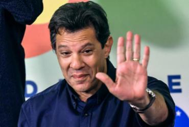 Haddad chama Bolsonaro de 'soldadinho de araque' e critica ausência em debates | Nelson Almeida l AFP