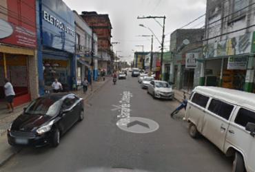 Acidente entre carro e moto deixa ferido no bairro da Calçada | Reprodução| Google Maps