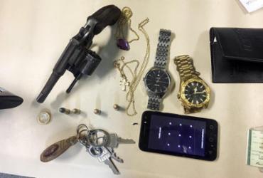 Homem é preso e adolescentes apreendidos por assaltos em São Cristóvão | Divulgação | SSP-BA