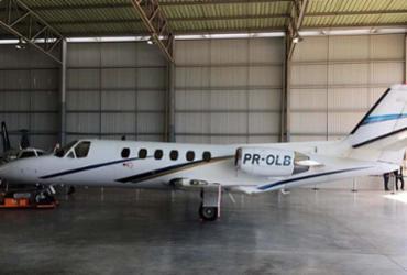 A aeronave utilizada, de matrícula PR-OLB, pertence à empresa Agropecuária Letícia Ltda - Reprodução   ANAC