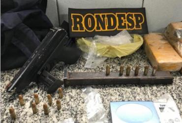 Suspeito de tráfico de drogas morre após confronto com a polícia na Santa Cruz | Divulgação | SSP-BA