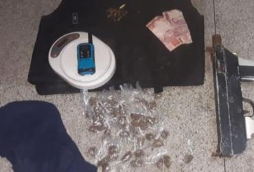 Suspeito que divulgava fotos com submetralhadora é morto em São Marcos | Divulgação | SSP-BA