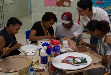 Centro Educacional realiza oficina de artesanato para mães de alunos com autismo | Alberto Coutinho | Divulgação | GOV-BA