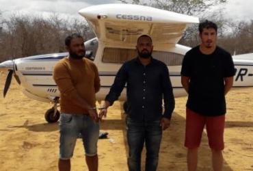 Avião envolvido em transporte interestadual de drogas é apreendido | Divulgação | SSP - BA