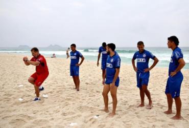 Após classificação na Sul-Americana, Bahia treina no Rio para o Brasileirão | Felipe Oliveira | EC Bahia | Divulgação