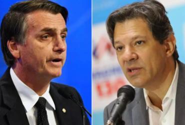 Diante de recusa de Bolsonaro de ir a debate, Globo não chamará Haddad |