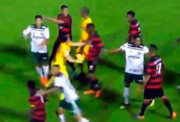 Brasileiro Sub-20: Vitória pode perder mando de campo por tumulto | Reprodução | FBF