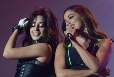 Camila Cabello divide palco com Anitta em show no Brasil | Reprodução | Instagram