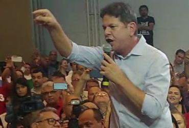 Em ato pró-Haddad, Cid Gomes chama militante de 'babaca' em comício   Reprodução   YouTube   Diário do Nordeste