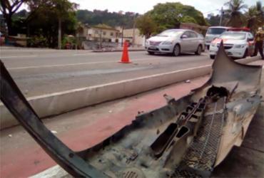 Engavetamento com cinco veículos deixa feridos em São João do Cabrito | Joá Souza | Ag. A TARDE