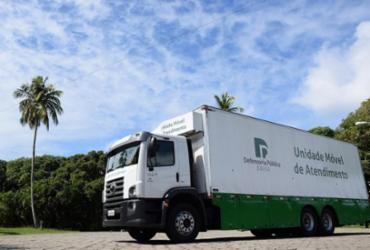 Unidade móvel da Defensoria Pública atenderá Brotas de Macaúbas, Oliveira dos Brejinhos e Boninal