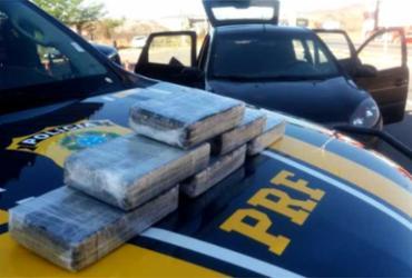 Homem é preso ao tentar transportar cocaína de SP para Feira de Santana | Divulgação l PRF