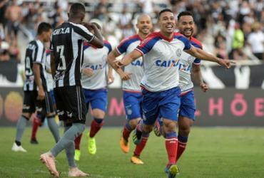 Com gol de Edigar Junio, Bahia vence Botafogo e sobe na tabela
