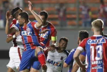 Com dois gols de Vinícius, Bahia sai do sufoco e vence o lanterna do Brasileirão | Adilton Venegeroles | Ag. A TARDE