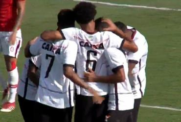 Vitória consegue vantagem na semi do Brasileirão Sub-23   Reprodução   CBF