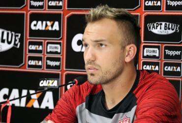 """""""Eu não estou jogando bem, o time não vem jogando bem"""", afirma Willian Farias   Maurícia da Matta   EC Vitória"""