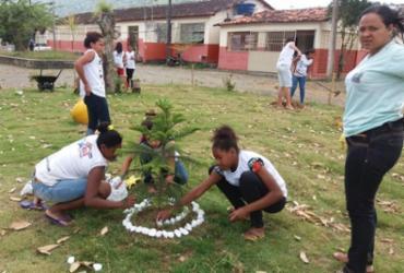 Escola de Itagi promove Educação Ambiental com horta e jardinagem