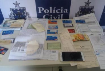 Mulher de 35 anos é presa por estelionato contra idosa em Canavieiras | Divulgação | Polícia Civil