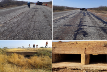 Estradas de Juazeiro, Sobradinho, Sento Sé e Pilão Arcado recebem serviços de manutenção