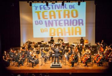 Orquestra Sinfônica da UFBA abre o 3º Festival de Teatro do Interior da Bahia