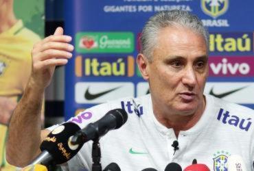 Tite diz que a Arábia Saudita vai oferecer 'grau de dificuldade maior' ao Brasil | Lucas Figueiredo | CBF