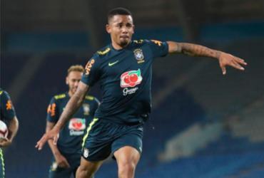 Mantido como 9 do Brasil, Gabriel Jesus é elogiado por Tite antes de amistoso | Lucas Figueiredo l CBF