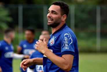 Bahia considera alta pedida do atacante Gilberto