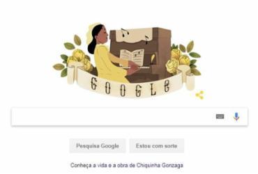 Chiquinha Gonzaga ganha homenagem do Google em seu 171º aniversário | Divulgação