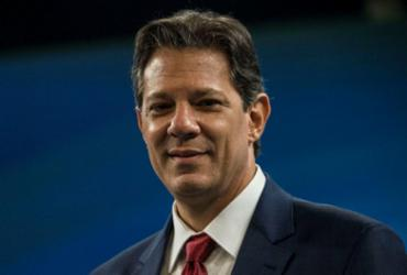 Haddad diz que PT apoiaria qualquer candidato contra Bolsonaro   Daniel Ramalho   AFP