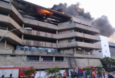 Laudo aponta que incêndio na Assembleia Lagislativa da Bahia foi acidental