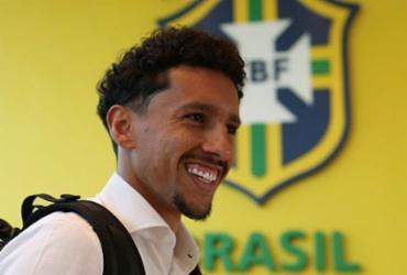 Marquinhos nega mudança de posição e revela conselhos a Neymar | Lucas Figueiredo | CBF
