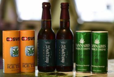 Maconha pode ser nova estrela dos fabricantes de bebidas alcoólicas? | Miguel Medina | AFP