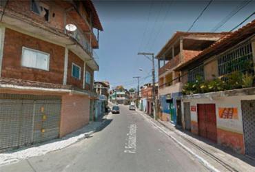 Grupo de manifestantes ateia fogo em pneus e bloqueia trânsito no Arenoso | Reprodução | Google Maps