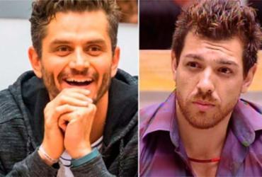 Os ex-BBBs Marcos Harter e Cézar Lima foram derrotados na urna - Reprodução