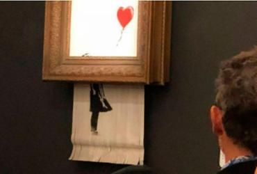 Quadro destruído por Banksy pode ter seu valor dobrado, dizem especialistas | Shotby's l The New York Times