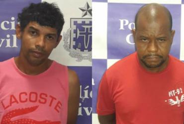 Dois suspeitos de roubar veículos são presos em operação | Divulgação | SSP-BA