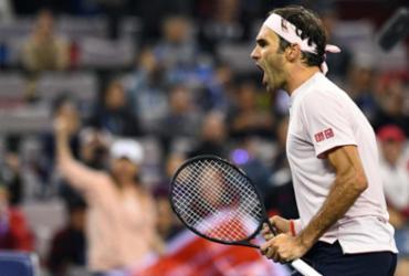 Roger Federer revela que jogou com lesão na mão direita | AFP