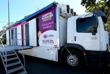 Unidade móvel do Hospital da Mulher chega a Candeias
