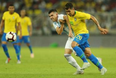 Veja as imagens de Brasil x Argentina pelo Superclássico |