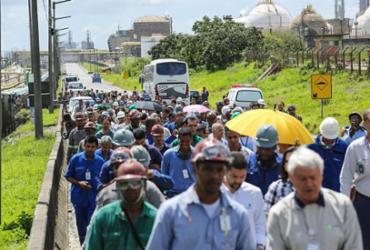 Polo de Camaçari realiza simulado e vias de acesso ao Complexo são bloqueadas