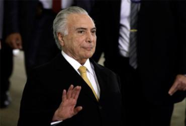 A defesa do presidente Temer informou que só vai se manifestar após concluir a leitura do relatório - Fabio Rodrigues Pozzebom l Agência Brasil